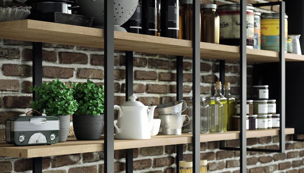 modelo garage nexo cocinas