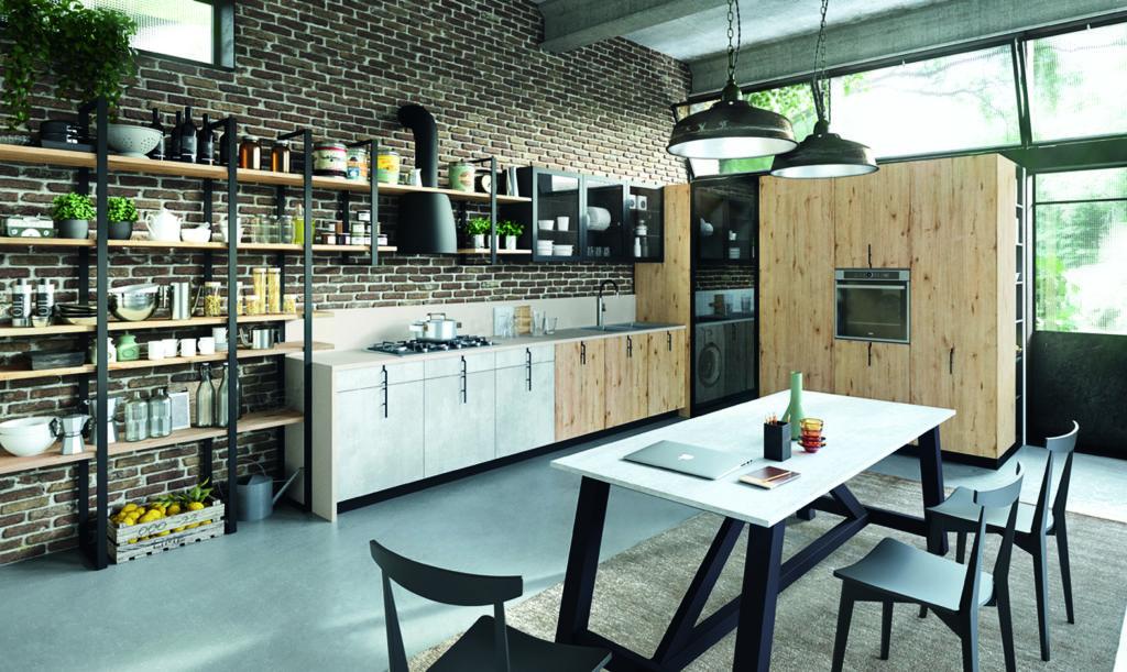 cocina acogedora espaciosa